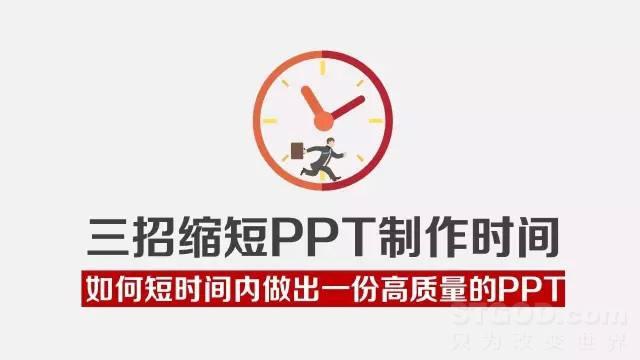 如何在短时间内做出一份高质量的PPT?