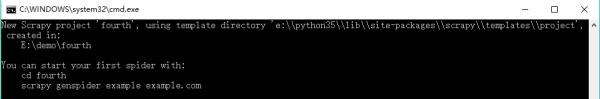 在Python3.5下安装和测试Scrapy爬网站