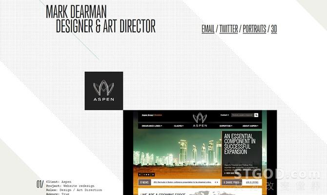 【干货】40个漂亮的单页网站设计欣赏