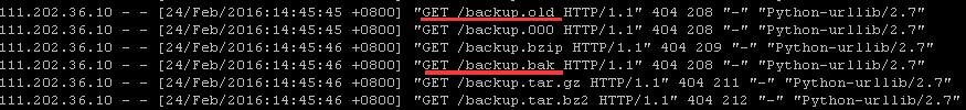 Web服务器在外网能裸奔多久?