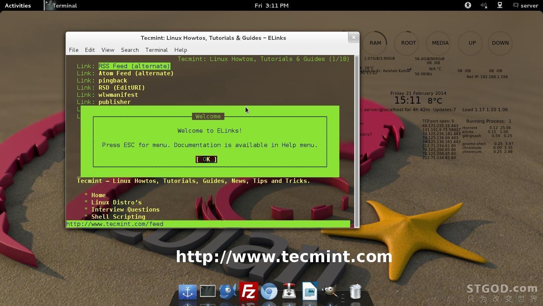 5 个基于Linux命令行的文件下载和网站浏览工具